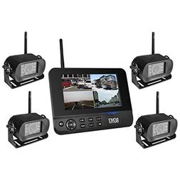 BOYO VTC700RQ-4 4Ch digital wireless car rear view with DVR
