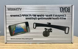 Boyo VTX400W Dual Mount Solution Compact Rear View Camera