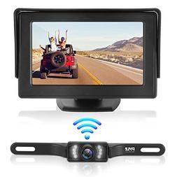 Waterproof Backup Rear View Camera - Wireless Car Parking Re