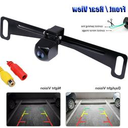 Waterproof HD Wide Angle License Plate Car Rear View Backup