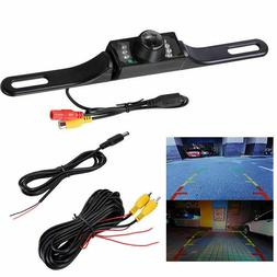 Waterproof HD Wide Angle License Plate Car Rear View Back Up