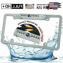 Waterproof Night Vision HD Wide Angle License Plate Car Rear