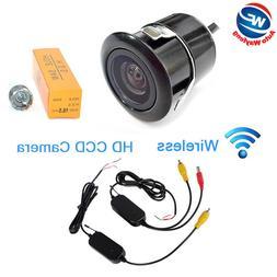 Wireless 18.5mm Vehicle Rear View Backup Parking Camera Reve
