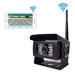 Digital Wireless Backup Camera for Truck RV Camper Vans Trai