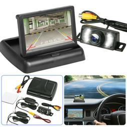 wireless backup camera and monitor kit rear