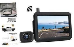 Wireless Backup Camera Kit with Digital Signal, Waterproof R