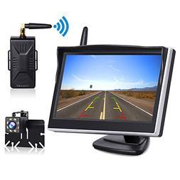 """TOGUARD Digital Wireless Backup Camera Kit, 5"""" LCD Monitor +"""