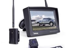 Wireless Backup Camera System, Waterproof and Night Vision W