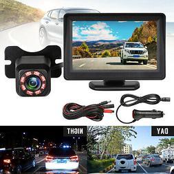 Wireless Waterproof Backup Camera System Car Rear View Parki