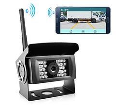 Wireless Phone Backup Camera Reversing Camera for Trucks RV