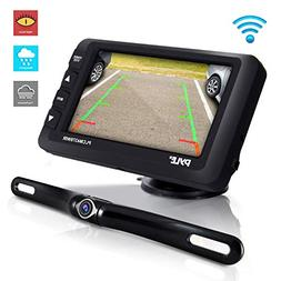 Wireless Rear View Backup Camera - Upgraded Vehicle Parking