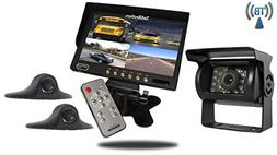 Tadibrothers 7 Inch Wireless Ultimate RV Trailer Backup Came